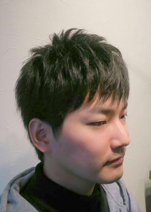 カット モデル 山本氏