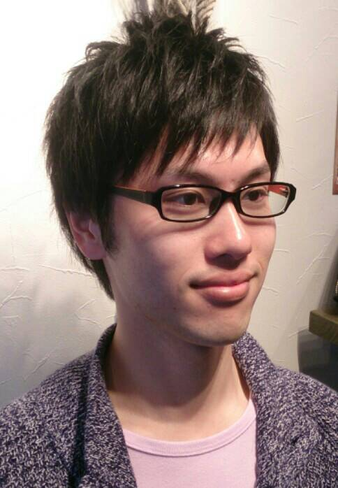 カットモデル 稲垣さん